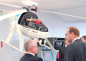 BERLIN AIR SHOW - ILA 2012 - Messestand BWB & Bundeswehr